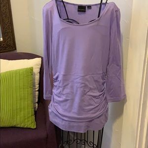 Purple lavender Tribal top Sm